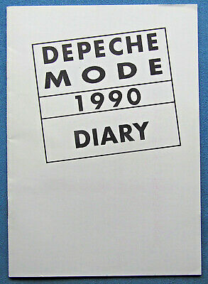 Depeche Mode Fan Club - 1990 Diary • 20£