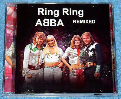 ABBA - ULTRA RARE 'Ring Ring - Remixed' CD Album • 18.99£