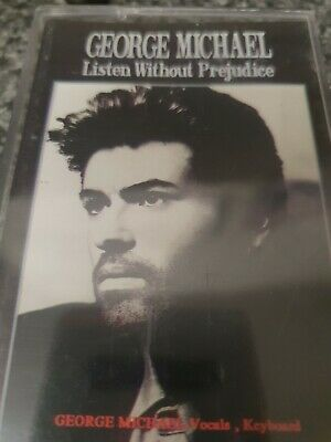 George Michael Listen Without Prejudice Cassette Tape • 2£