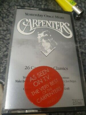 The Carpenters Yesterday Once More Double Tape Cassette • 3.70£