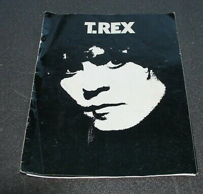 T-Rex The Damned 1977 Dandy In The Underground Mega Rare Tour Programme • 19.99£