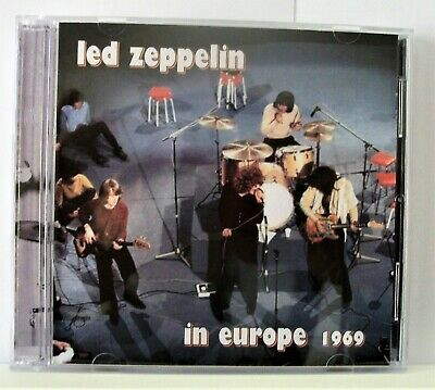 Led Zeppelin In Europe 1969 Live Double C.d • 12£