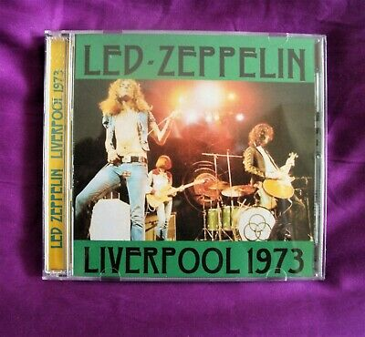 Led Zeppelin Live In Liverpool 1973 Double C.D • 12£