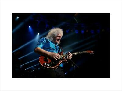 Queen- BRIAN MAY, 2014 CLOSE UP PHOTO PRINT • 65£