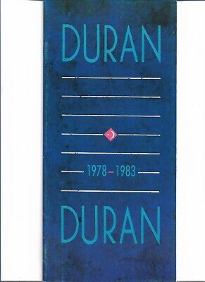Duran Duran - 1978 - 1983 - Rare 1983 UK Fan Club / Promo Picture Magazine  • 11.99£