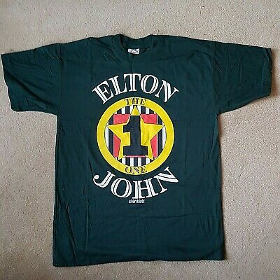 Elton John   The One   Vintage T-shirt From His Former Pa - Bob Halley - Unworn • 125£
