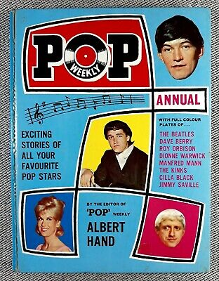 Pop Weekly Annual 1966 • 8.99£