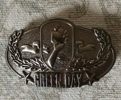 Green Day 2004 Official American Idiot Metal Belt Buckle. • 11.95£