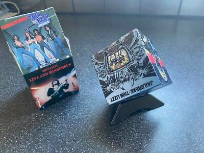 Thin Lizzy  Rubiks Cube, Presentation Box And Display Plinth.  • 31£