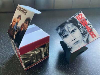 U2  Rubiks Cube, Presentation Box, And Plinth. Brand New.   • 26£
