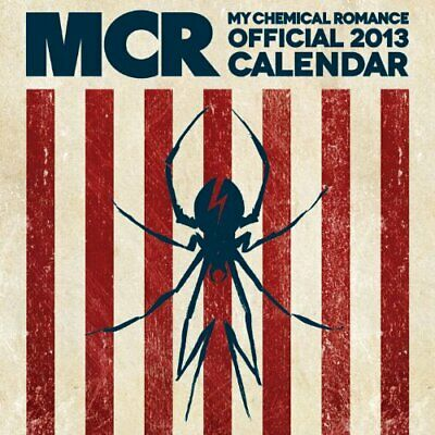 My Chemical Romance Official 2013 Calendar By Pyramid International Book The • 25.99£