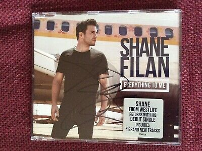 RARE Westlife Shane Filan Everything To Me CD Single Autograph SIGNED • 29.99£