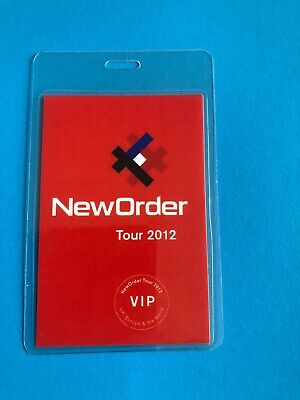 New Order Concert Backstage Pass • 13.99£