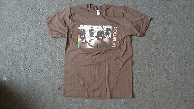 COLDPLAY Brown Medium T.shirt. Twisted Logic Tour 2005. • 12£
