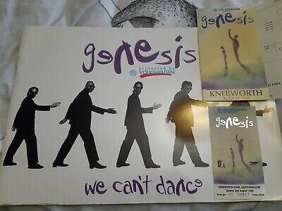 Genesis- We Cant Dance 1992 World Tour Programme, And Pristine Original Ticket. • 5.75£