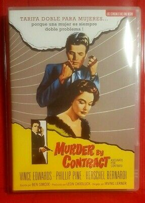 MURDER BY CONTRACT: DVD - Excellent Crime, Drama, Film-Noir_Official DVD Edition • 6£