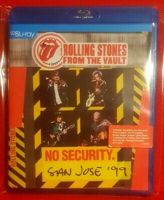 THE ROLLING STONES From The Vault: No Security San Jose '99_CLASSIC  STONES  GIG • 8£