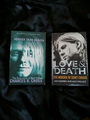 Kurt Cobain Books • 4£