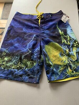 Iron Maiden Official Vans Board Shorts • 10.50£