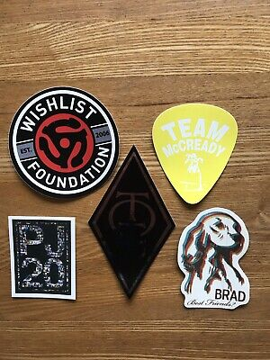 Pearl Jam / Brad / Temple Of The Dog Stickers • 7.50£