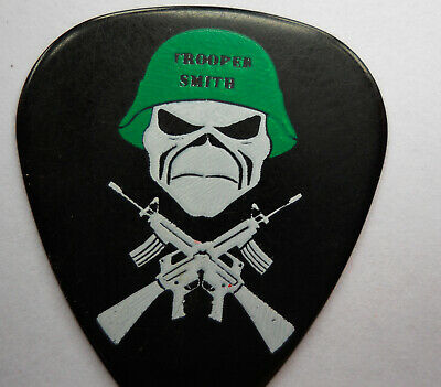 Official TROOPER SMITH IRON MAIDEN GUITAR PICK  • 9£