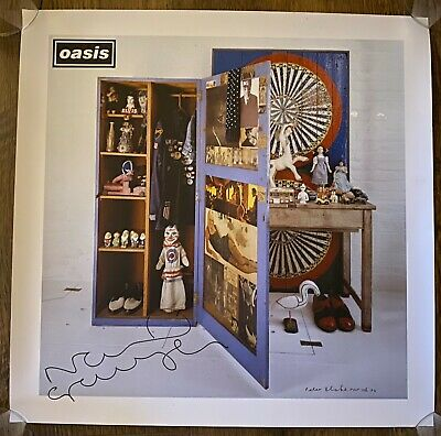 Oasis - Stop The Clocks - Signed By Noel Gallagher - Peter Blake Art Print Liam • 250£