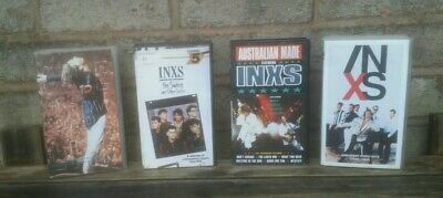 Inxs- 4 X Retro Vhs Inxs Video Tapes See Description For Details / All Used • 2.99£