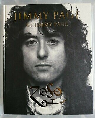 Jimmy Page Stamp Signed Dated Zoso Genesis Book Led Zeppelin Rare Cadogan 1st Ed • 99.99£