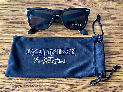 Iron Maiden: Official 'Fear Of The Dark' UK FC Fan Club SOLD OUT Sunglasses • 21£
