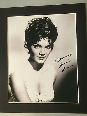 1950s Singer Connie Francis Sign Photo And Coa • 19.99£