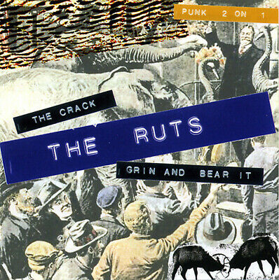 Ruts - The Crack / Grin And Bear It Henry Rollins Stiff Little Fingers Sham 69 • 6£