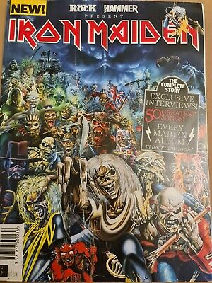 Iron Maiden Classic Rock & Metal Hamner Present Iron Maiden. The Complete Story. • 14.99£