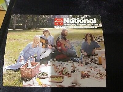 Abba.National Promotional Postcard.Original.Vintage.Private Collection. • 45£