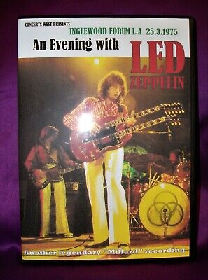 Led Zeppelin Live At The Inglewood Forum 25.3.1975 Triple C.D • 16£