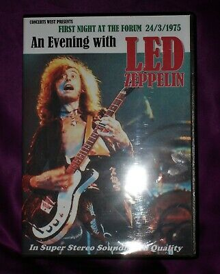 Led Zeppelin Live  First Night At The Forum  L.A 1975 Triple C.D • 16£