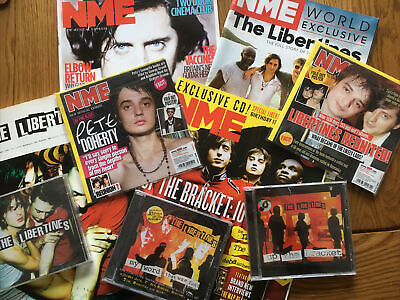 The Libertines CD's NME's New Musical Express A Song Book & Cards Job Lot Bundl • 11.99£