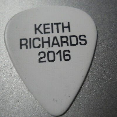 Official KEITH RICHARDS - ROLLING STONES 2016 Tour GUITAR PICK  • 0.99£