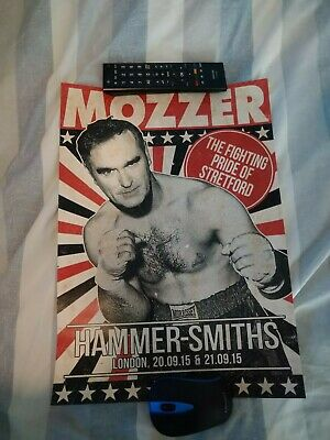 Morrissey A3 Poster - Hammersmith Gigs 2015 • 10£