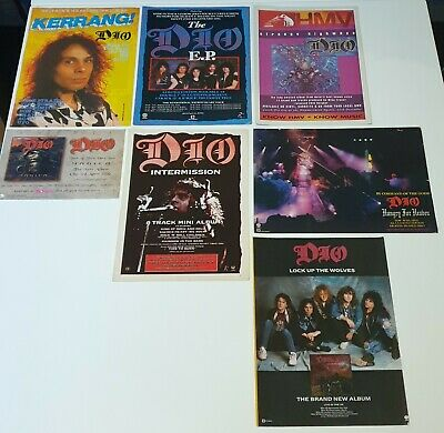 Dio Collection - Tours/Adverts/Posters/Gig/Album Reviews.   • 9.99£