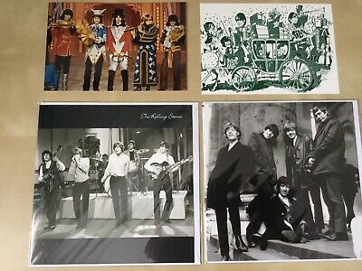 THE ROLLING STONES 2 X Greetings Cards And 2 X FAN CLUB Postcards, Brian Jones • 12.99£