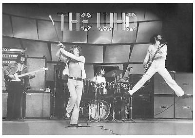 The Who On Stage  70's Logo POSTER 34  X 24  • 6.99£