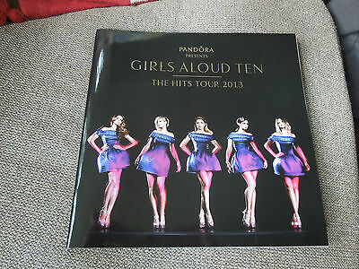 Girls Aloud Ten The Hits Tour 2013 RARE Tour Programme • 25£