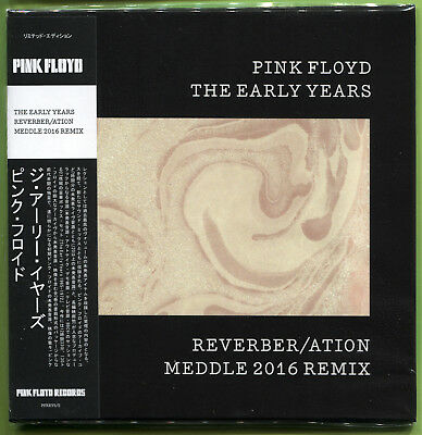 Pink Floyd THE EARLY YEARS. REVERBER/ATION: MEDDLE 2016 REMIX CD Mini-LP Sealed • 12.49£