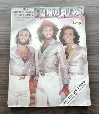 Bee Gees The Authorized Biography 1979 • 16£