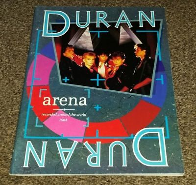 DURAN DURAN UK Issue Song And Sheet Music Book - Arena Album • 22.99£