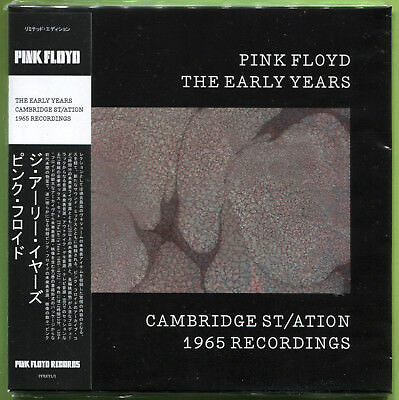 Pink Floyd THE EARLY YEARS. CAMBRIDGE ST/ATION 1965 RECORDINGS CD Mini-LP Sealed • 12.49£