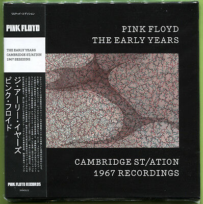 Pink Floyd THE EARLY YEARS. CAMBRIDGE ST/ATION 1967 RECORDINGS CD Mini-LP Sealed • 12.49£