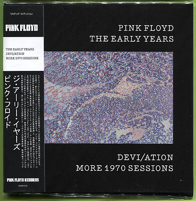 Pink Floyd THE EARLY YEARS. DEVI/ATION MORE 1970 SESSIONS CD Mini-LP Sealed • 12.49£