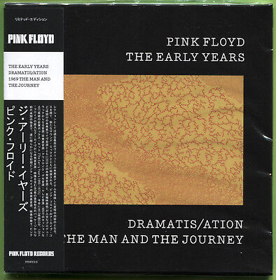 Pink Floyd THE EARLY YEARS. DRAMATIS/ATION 69 THE MAN AND THE JOURNEY CD Mini-LP • 12.49£