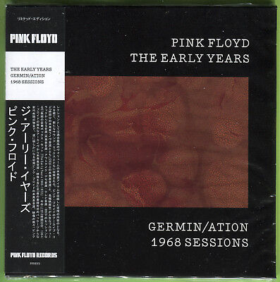 Pink Floyd THE EARLY YEARS. GERMIN/ATION 1968 SESSIONS CD Mini-LP Sealed W/OBI • 12.49£